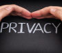 Privacy. Security of personal data. Internet concept. Data Protection.